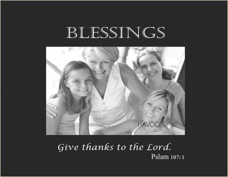 Blessings verse