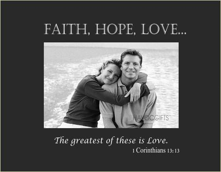 Faith, Hope, Love verse