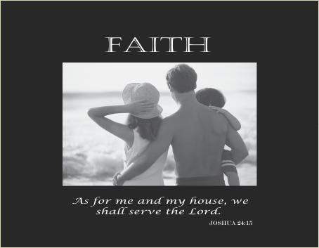 Faith verse