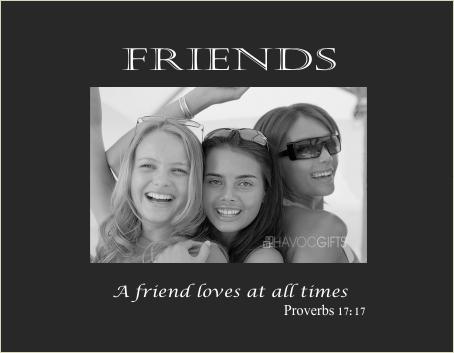 Friends verse
