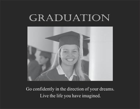 Graduation verse