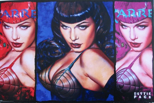 Bettie Page-Colors