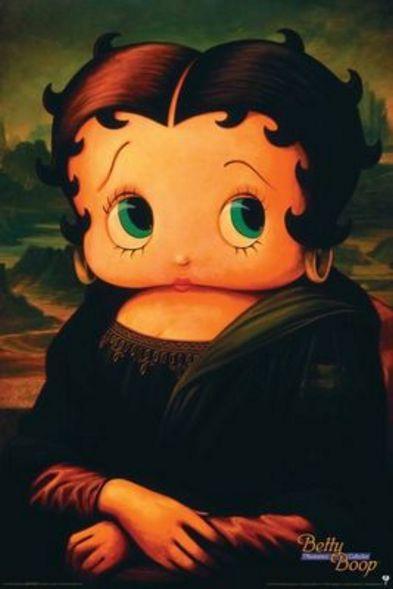 Betty Boop-Mona Lisa