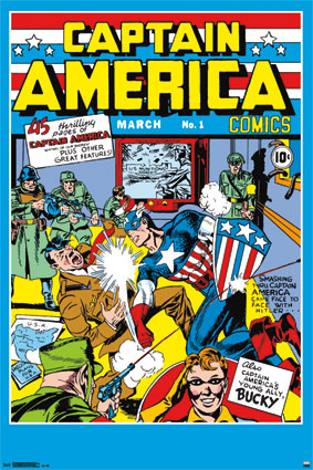 Captain America Comic- March No 1