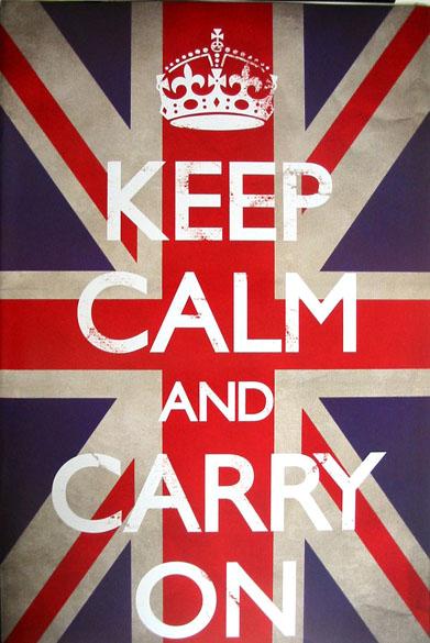 Keep Calm Carry On