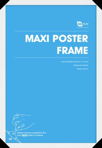 """Poster Frame (White) 24""""x36"""""""