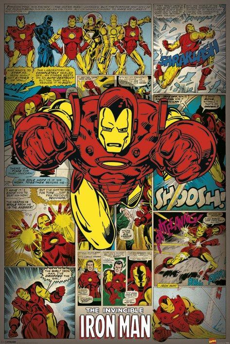 Iron Man-Vintage Comic