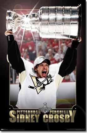 Sydney Crosby-Cup- Penguins