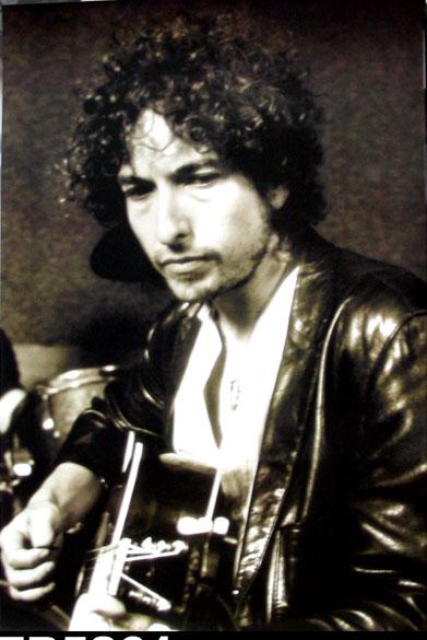 Bob Dylan-Leather Jacket