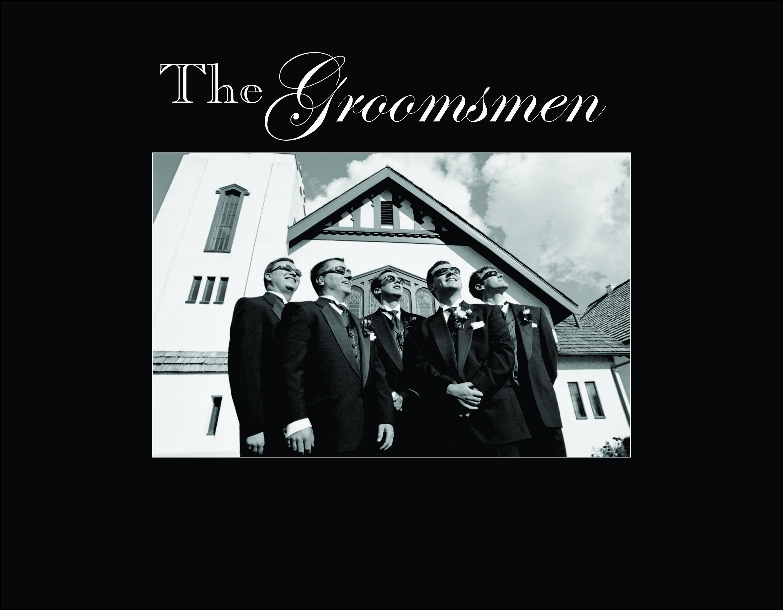 "The Groomsmen-4""x6"" Photo Frame"
