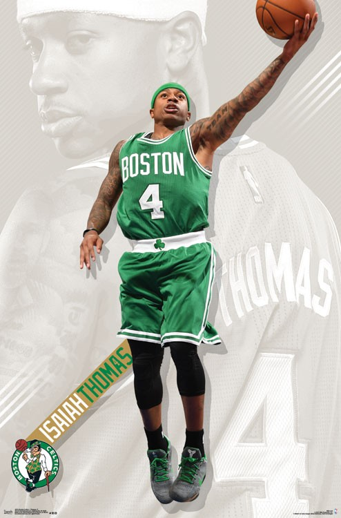 Boston Celtics Basketball Poster Photo Photos Pictures, Mascot Sports