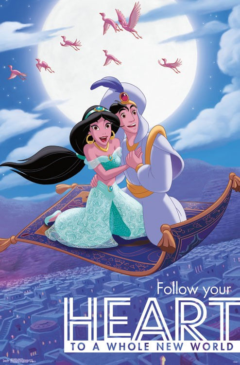 Aladdin Carpet Ride Athena Posters