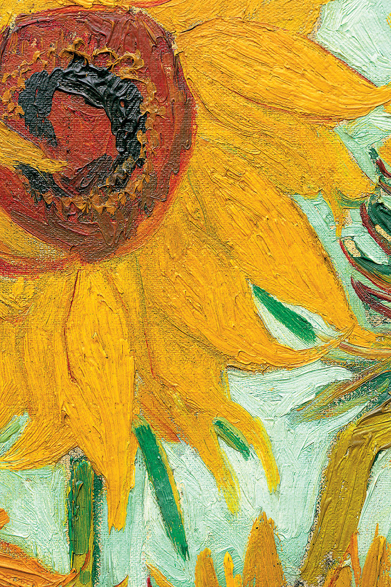 Van Gogh Sunflower Detailed - Athena Posters